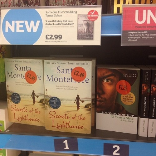 No 1 in Sainsbury's. I ❤️ Sainsbury's shoppers SO much!