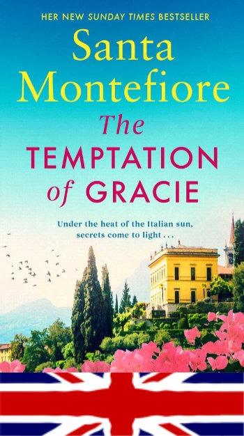 UK Paperback edition of The Temptation of Gracie - Out 18th April 2019
