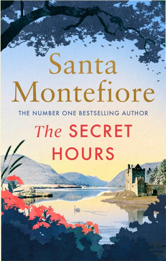 UK Hardback edition of The Secret Hours